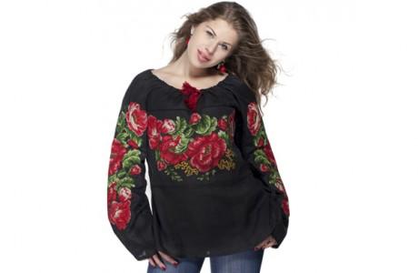 Модные женские вышиванки