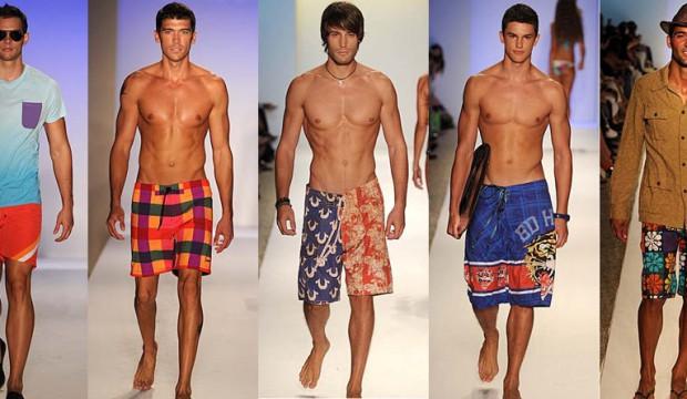 Пляжные мужские шорты на лето 810fc6bd2d217