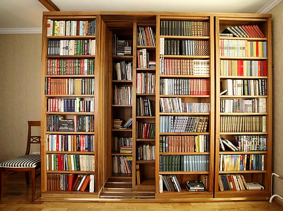 Как устроить библиотеку в небольшой квартире