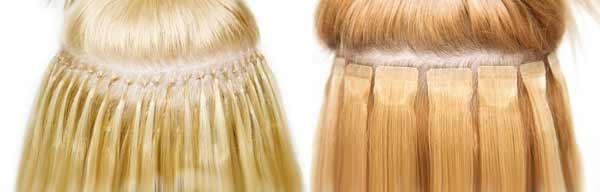 Наращивание волос отзывы капсульное или ленточное