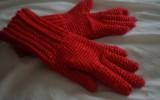 Женские-вязанные-перчатки