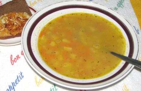 Варим суп из гороха