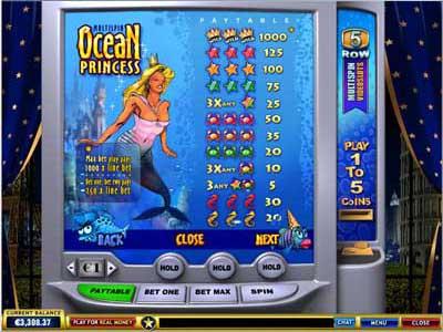 Игра Принцесса Океана