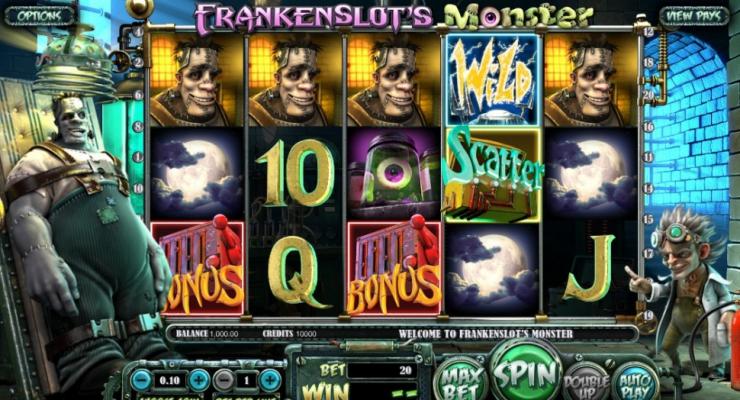 Игровой автомат Frankenslot's Monster от Betsoft