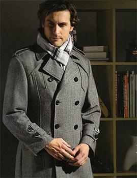 Шьем мужское пальто на заказ