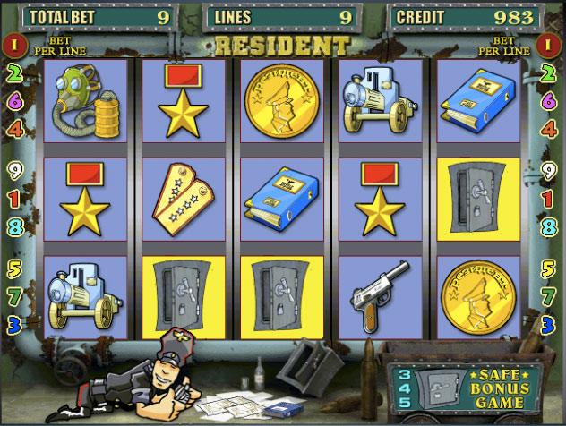 Игровые автоматы игра resident игровые автоматы онлайн играть сейчас бесплатно