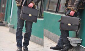 Выбираем мужскую деловую сумку