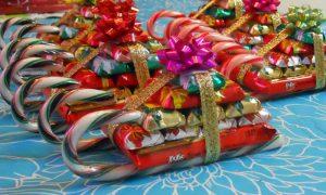 Как красиво оформить сладкий подарок на новый год?
