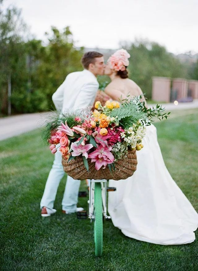 Идеи с цветами для свадьбы